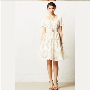Lace Keyhole Dress